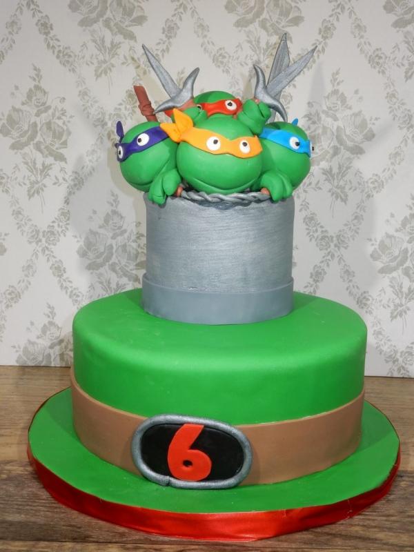 Teenage Mutant Ninja Turtles Cake by Goodies Bakeshop