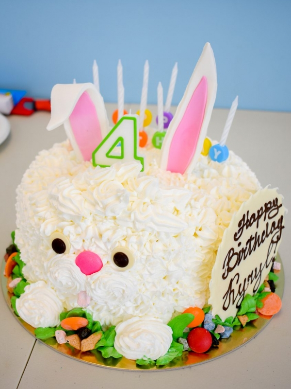 Bunny Cake from Goodies Bakeshop