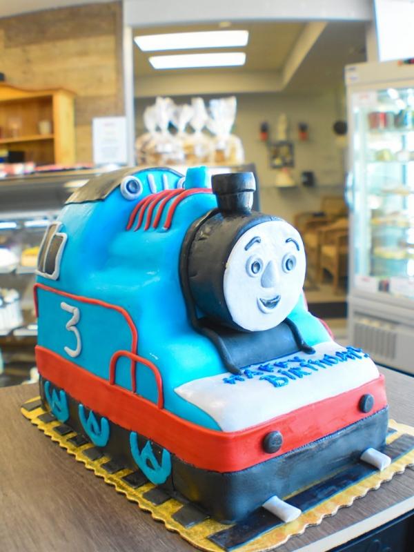 Thomas the Train custom Cake by Goodies Bakeshop